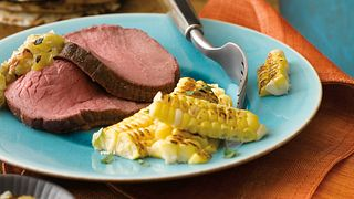Southwestern Beef Roast with Spicy Salsa Verde