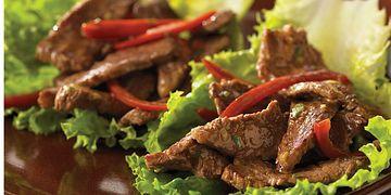Thai Beef Wok'N Roll-Ups