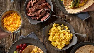 Steak and Eggs Breakfast Taco