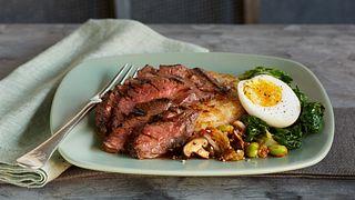 Seoul Steak and Eggs