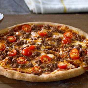 Savory Beef Pizzas