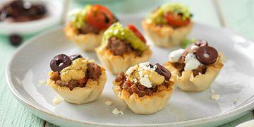 Tiny Greek Beef Tarts