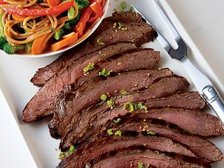 Pacific Rime Grilled Steak & Noodle Salad