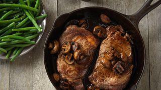 ribeye-steaks-with-balsamic-mushroom-sauce
