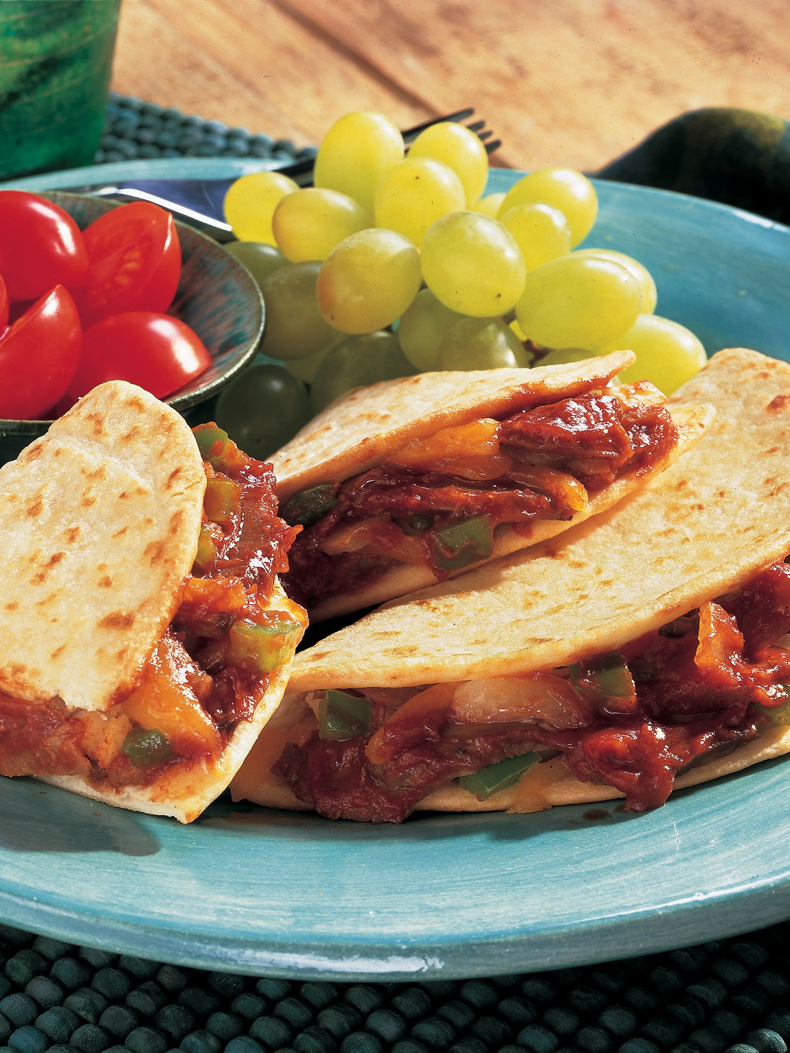 BBQ Beef & Cheese Quesadillas