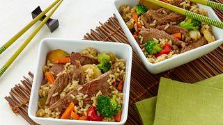 Korean Beef and Vegetable Bowls