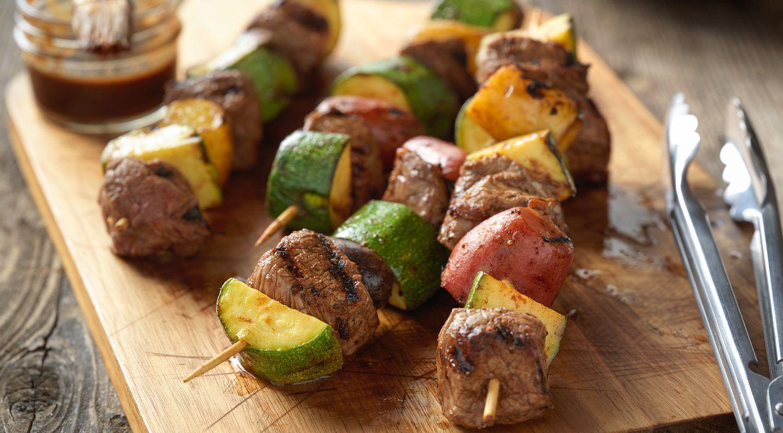 Beef Steak & Potato Kabobs