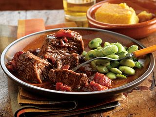 Smoky Chipotle Pot Roast with Cornbread