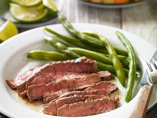Tangy Lime Grilled Top Round Steak Top Round Steak