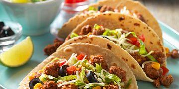 Confetti Beef Tacos