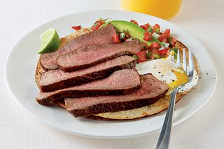 Baja Sunrise Steak and Eggs