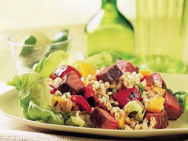 beef-mango-and-barley-salad