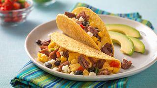Breakfast Skillet Tacos