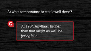 Temperature Cooking Steak Well Done Chuck Knows Beef Answer