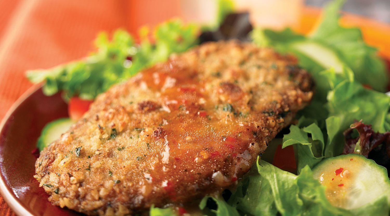 Steak Milanese Salad