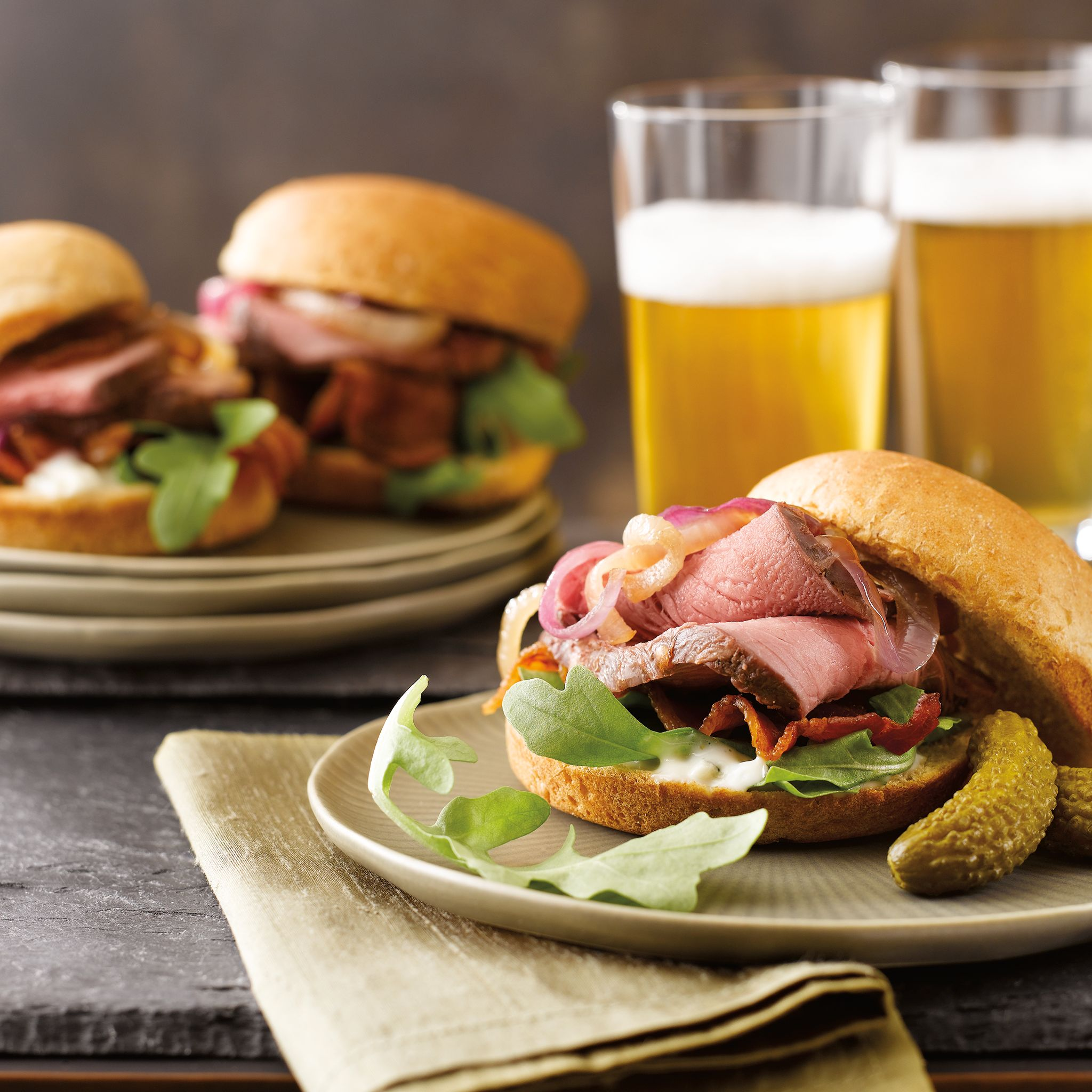 Bistro Steak Sliders