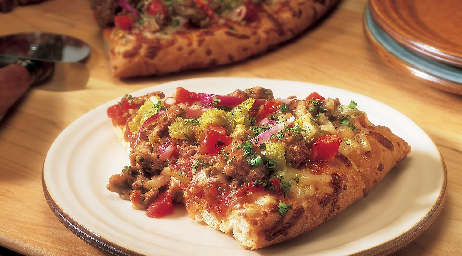 Southwest Beef & Chile Pizza