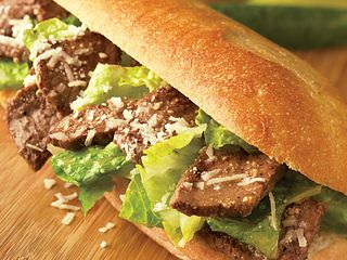 Caesar Steak Sandwiches