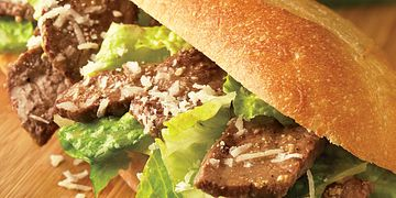 Caesar Steak Sandwiches