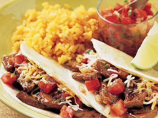 Mini Steak Tacos with Spicy Pico de Gallo