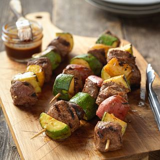 Beef Top Sirloin and Potato Kabobs