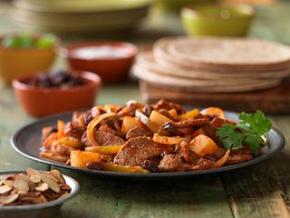 Picadillo-Style beef Stir-Fry