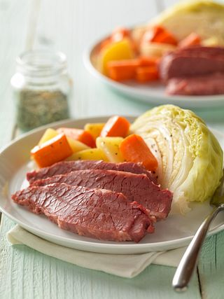 Celebrate 2021's St. Patrick's Day with a Brisket Flat Half and Corned Beef at Home