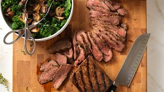 Red Wine Herb-Marinated Beef Steak