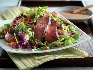 East Meets West Steak Salad
