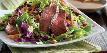 East Meets West Steak Salad