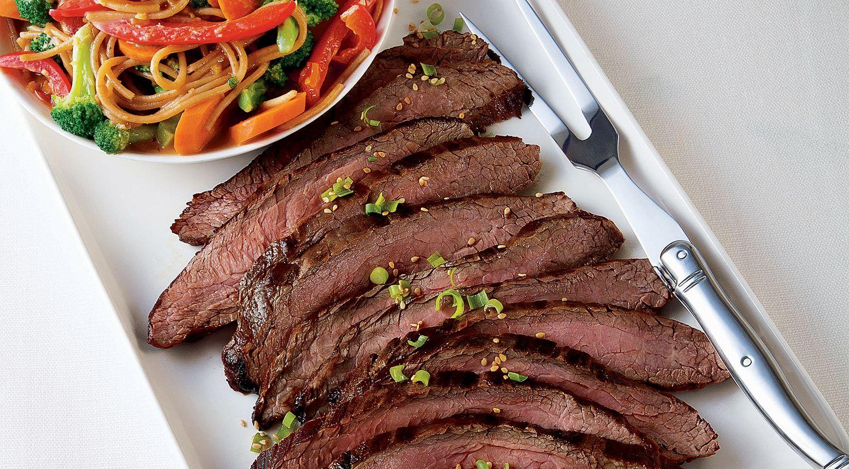 Pacific Rim Grilled Steak & Noodle Salad