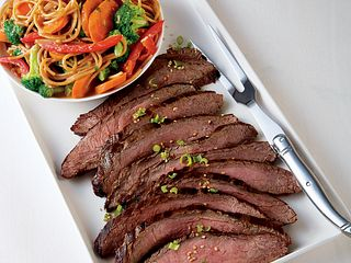Pacific Rime Grilled Steak & Noodle Salad