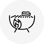 Indirect Grilling Icon
