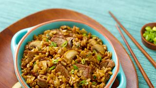 Steppin' Beef Fried Rice