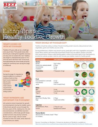 Eating Tips for Healthy Toddler Growth