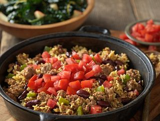 Beef with Red Beans and Rice