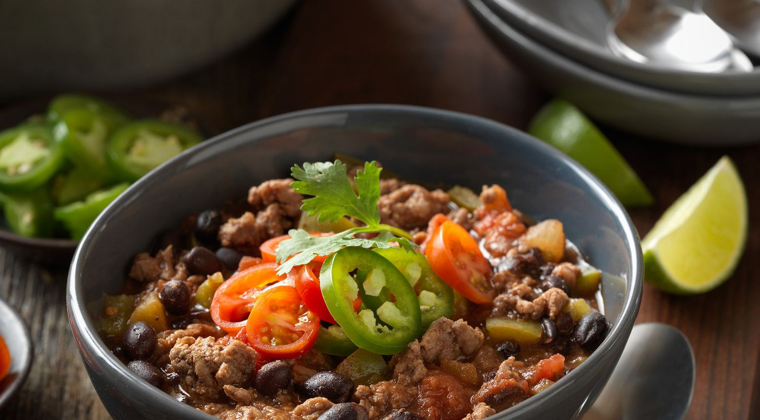 Simple Beef and Brew Chili