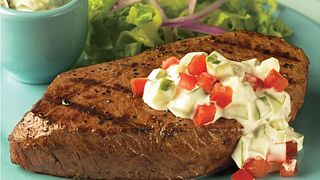 Cucumber Ranch Steaks