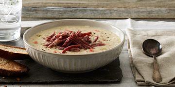 Corned Beef Reuben Soup