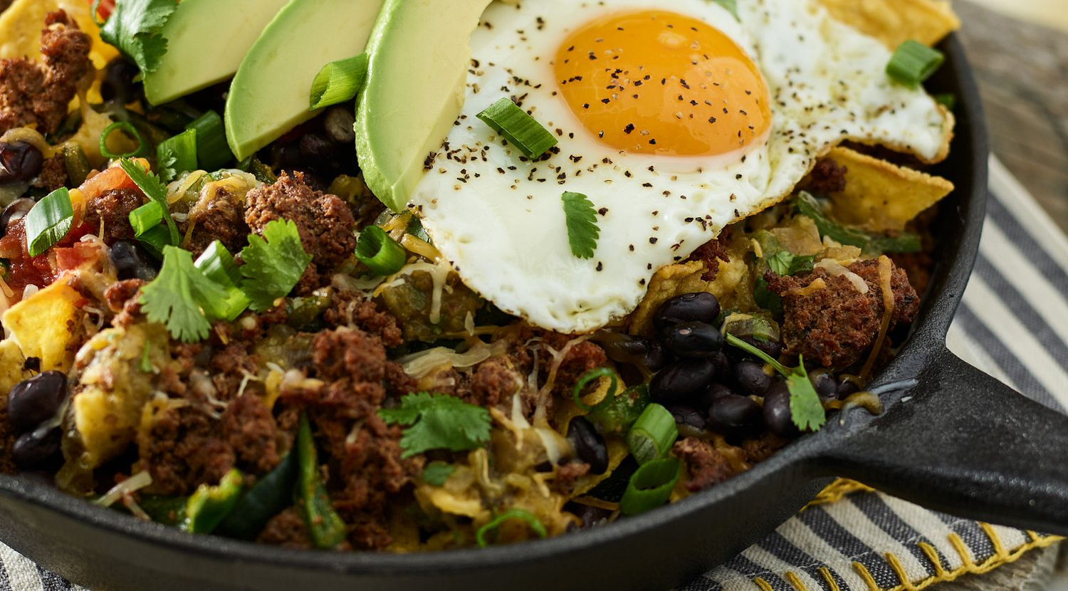 Mexican Beef Sausage Chilaquiles