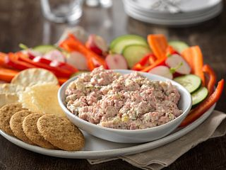 Corned Beef and Pickle Dip