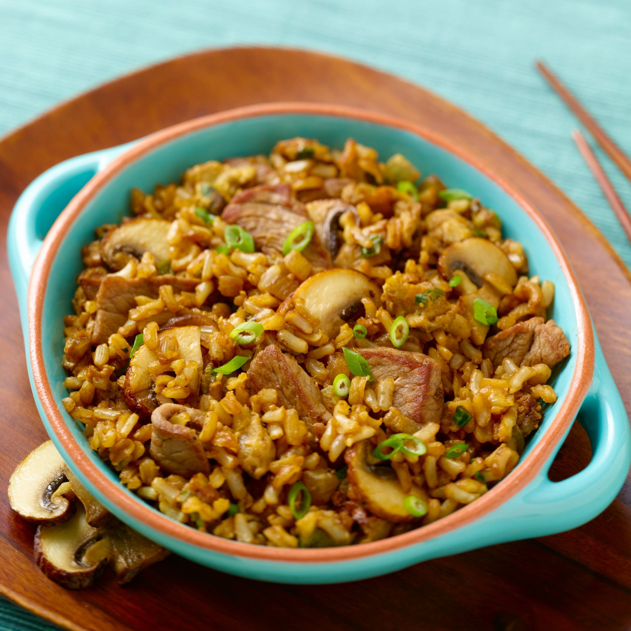 Steppin' Up Beef Fried Rice
