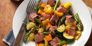 Grilled Steak & Vegetable Salad
