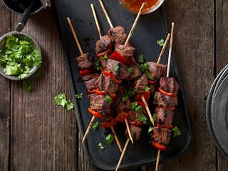 Spicy Portuguese Beef Steak Kabobs