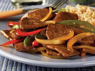 Beef Pepper Steak