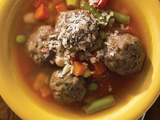 Baked Mighty Mini Meatballs Meatball Soup