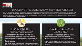 Beef Choices Nutrition