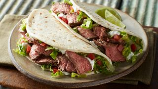 Beef Steak Soft Tacos