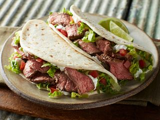 Beef Steak Soft Tacos