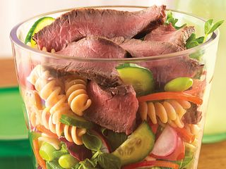 Layered Beef Salad On-The-Go